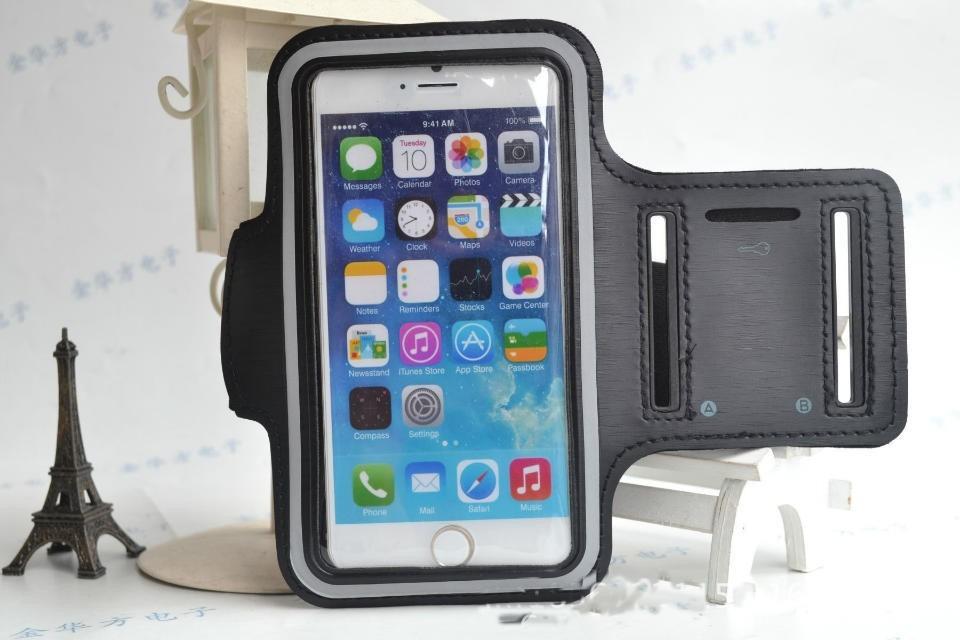 Løbearmbånd til iPhone 6 / 6S- sort