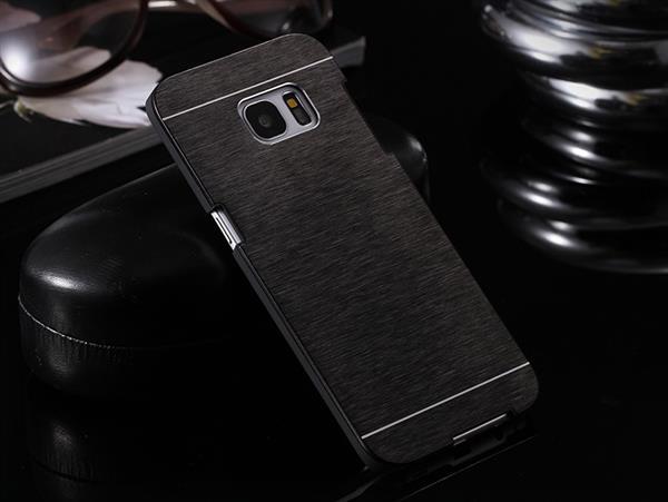 Billede af Gaia Aluminium cover til Samsung Galaxy S7-Sort