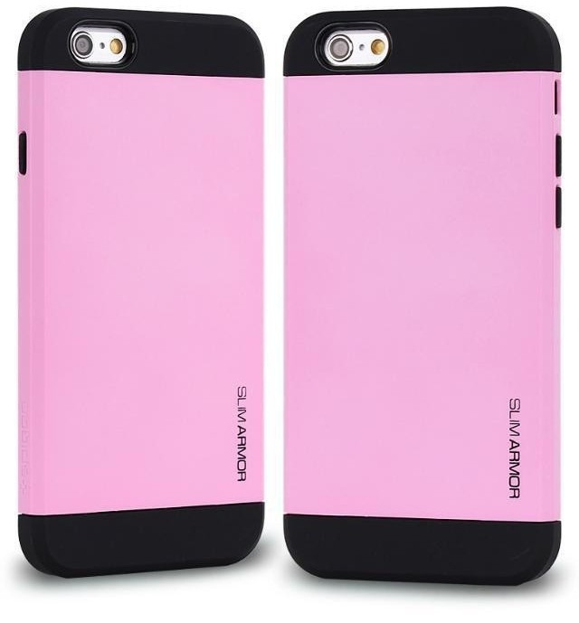 Pink Hard Cover til iPhone 6