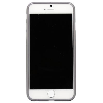 Grå iPhone 6 / 6S bumper i børstet aluminium