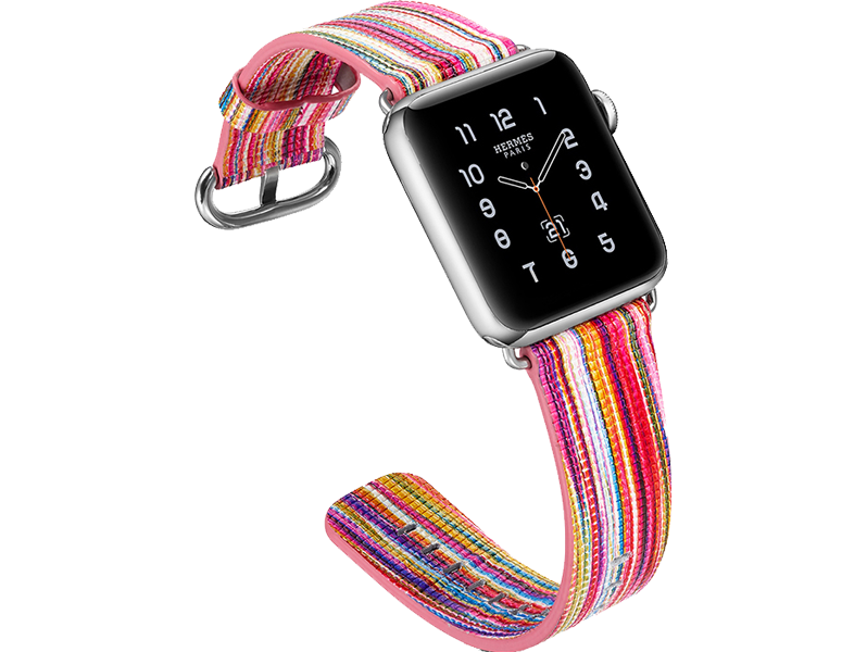 Image of   Agra rem til Apple Watch 1 / 2 / 3 / 4 / 5-Pink-42/44 mm