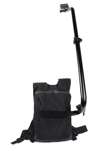 Vandafvisende Rygsæk mount til GoPro / Selfie Backpack