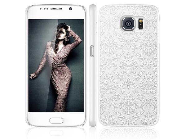 Billede af Metis Cover med mønster til Samsung Galaxy S7 -Hvid