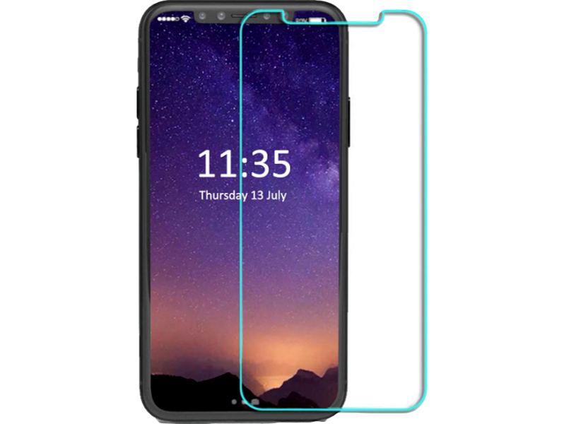 Image of   Hærdet Glas til iPhone X / XS