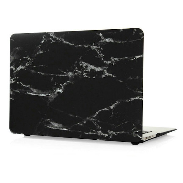 Marquina Marble Cover - Macbook Pro Retina 13""