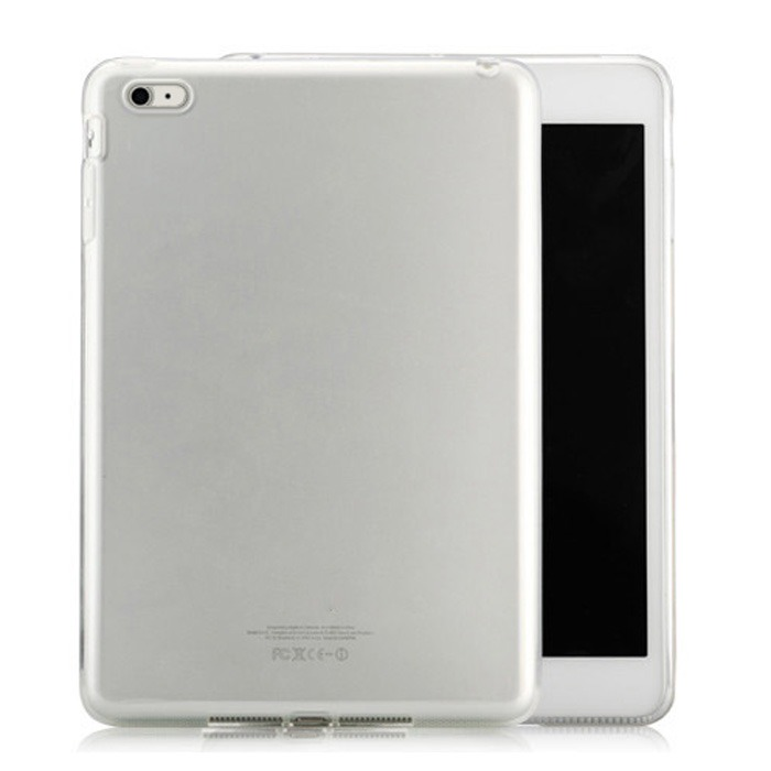 TPU Cover til iPad Air 1 / 2-Hvid-iPad Air 2