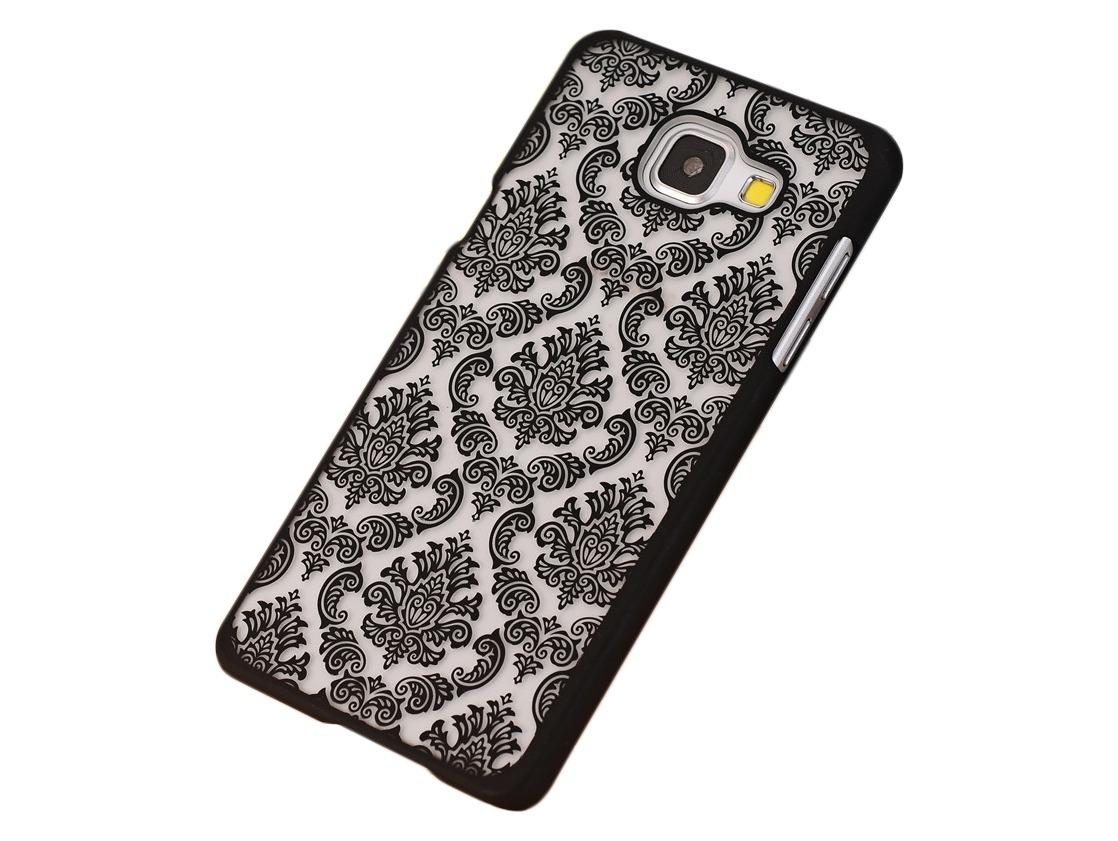 Metis Cover med mønster til Samsung Galaxy S7 Edge-Sort