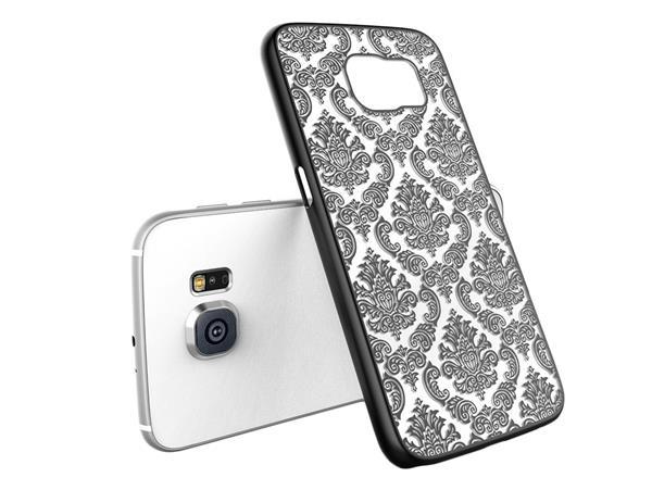 Billede af Metis Cover med mønster til Samsung Galaxy S7 -Sort