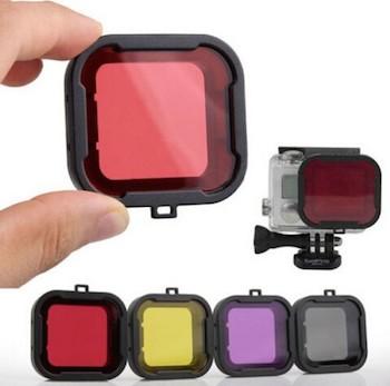 Image of   Dive Filter Lens til GoPro 4 / 3+ Housing