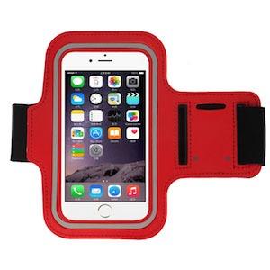 iPhone 6 Plus / 6S Plus løbearmbånd-Rød-4-1