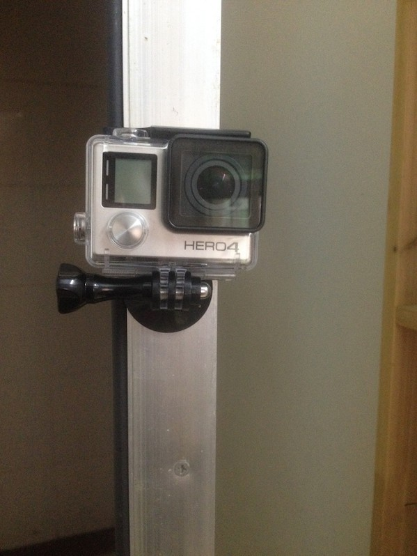 Image of   Magnetisk Tripod mount adapter til GoPro