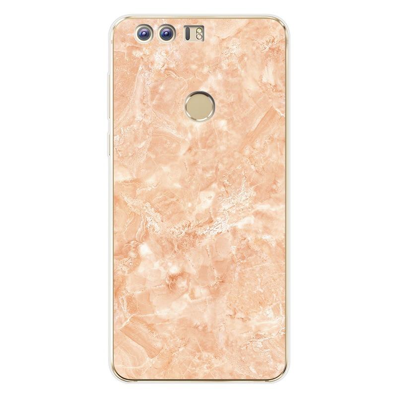 Marmor cover til Huawei P8 Lite-Pink