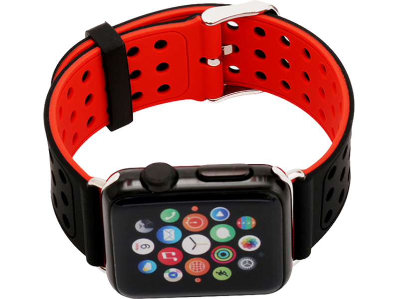 Image of   Tosidet gummi rem til Apple Watch