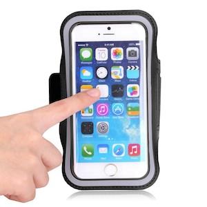 iPhone 6 Plus / 6S Plus løbearmbånd-Sort-4-1