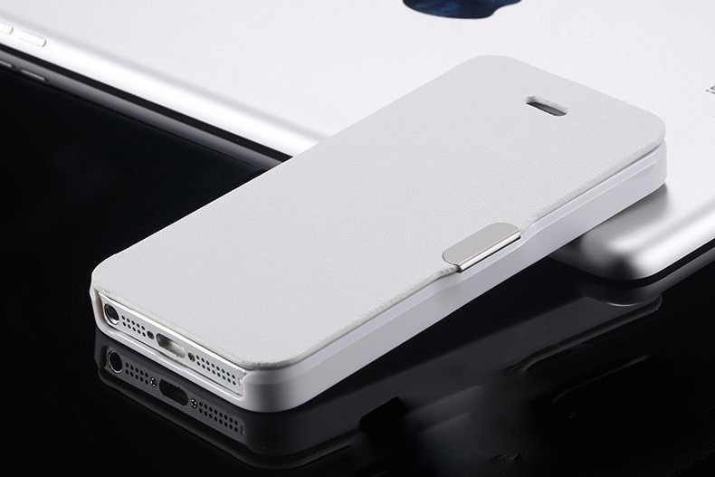 Image of   Lapoin hvidt iPhone 6 / 6S Flip Cover