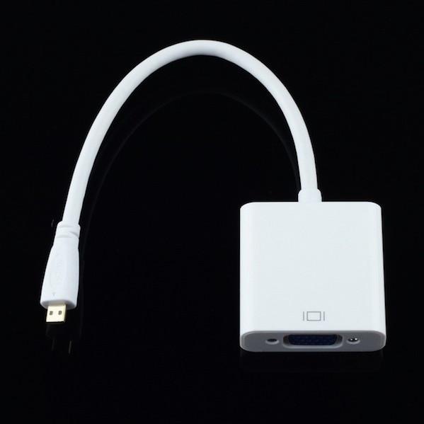 Billede af Micro HDMI til VGA adapter
