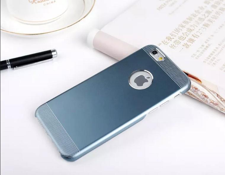 Billede af Grå iPhone 6 / 6S Aluminium + TPU Cover