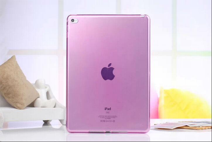 Crystal Cover til iPad Air 1 / 2 -Pink-iPad Air 2