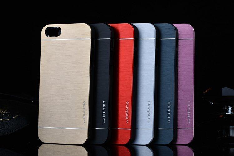 Billede af Cover i børstet aluminium til iPhone 5 / 5S / SE