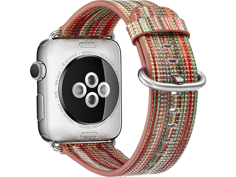 Image of   Agra rem til Apple Watch 1 / 2 / 3 / 4 / 5-Rød-42/44 mm