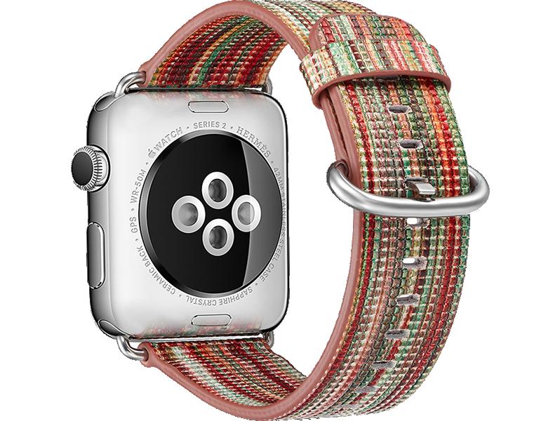 Image of   Agra rem til Apple Watch 1 / 2 / 3 / 4 / 5-Rød-42/44 mm