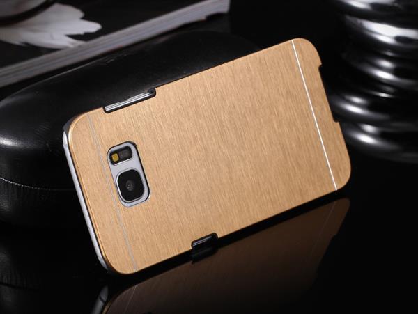 Billede af Gaia Aluminium cover til Samsung Galaxy S7-Guld