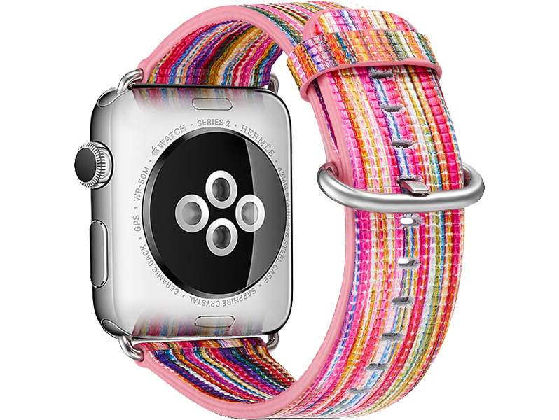 Image of   Agra rem til Apple Watch 1 / 2 / 3 / 4 / 5-Pink-38/40 mm