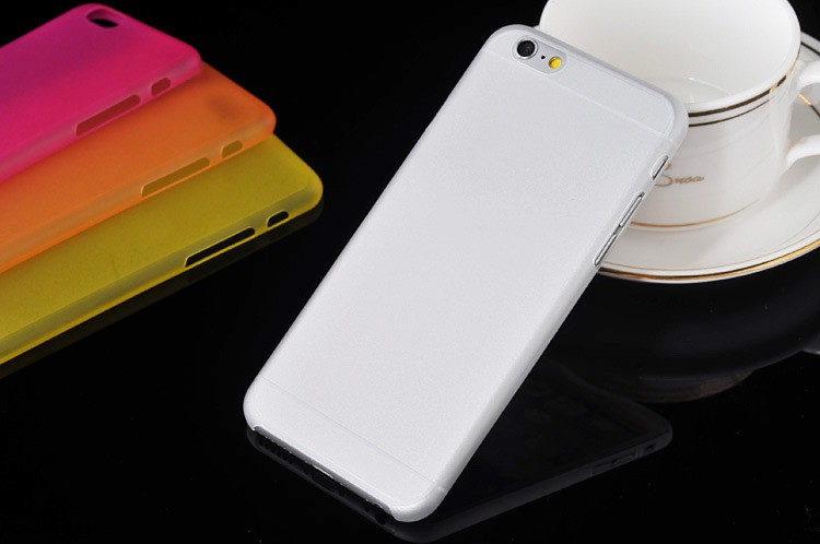 Image of   TPU iPhone 6 cover-Hvid