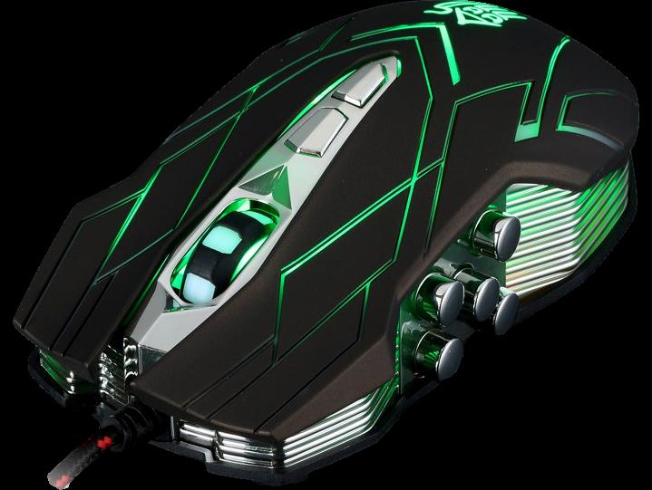 X9 Gamer mus med lys