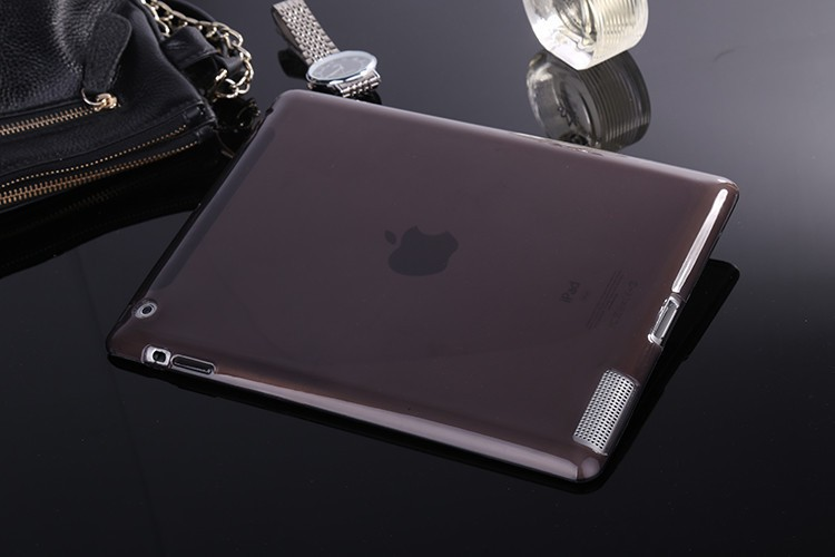 TPU Cover til iPad 2 / 3 / 4-Sort