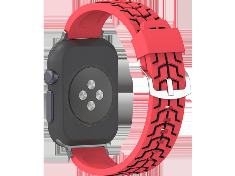 Image of   Carmelo rem til Apple Watch 1 / 2 / 3 / 4 / 5-Rød-42/44 mm