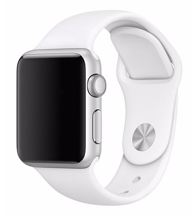 Sportsrem til Apple Watch-Hvid-38 mm