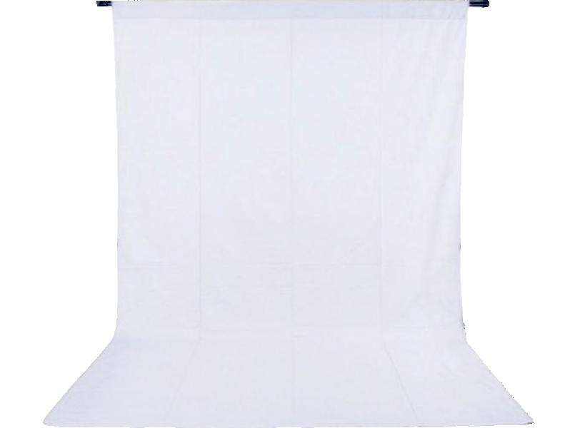 Image of   Foto Baggrund 100 x 200 cm-Hvid