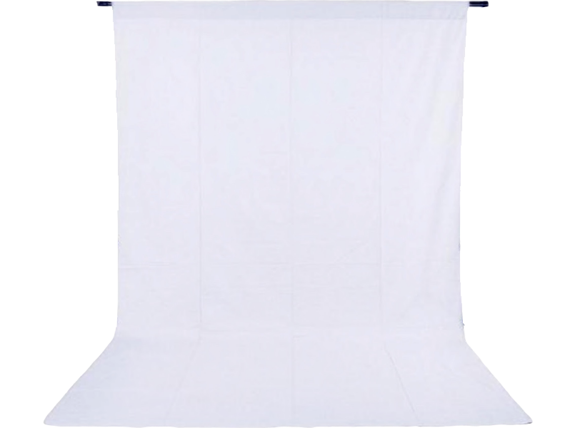 Image of   Foto Baggrund 200 x 200 cm-Hvid