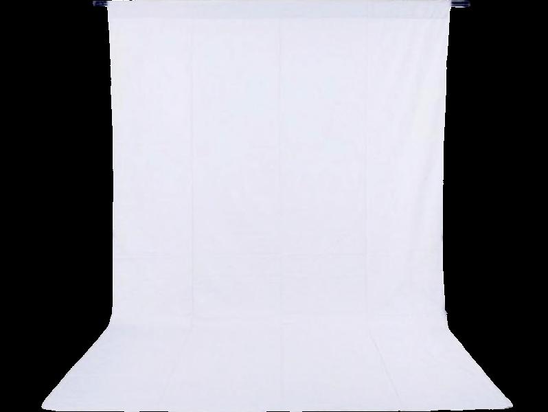 Image of   Foto Baggrund 200 x 400 cm-Hvid