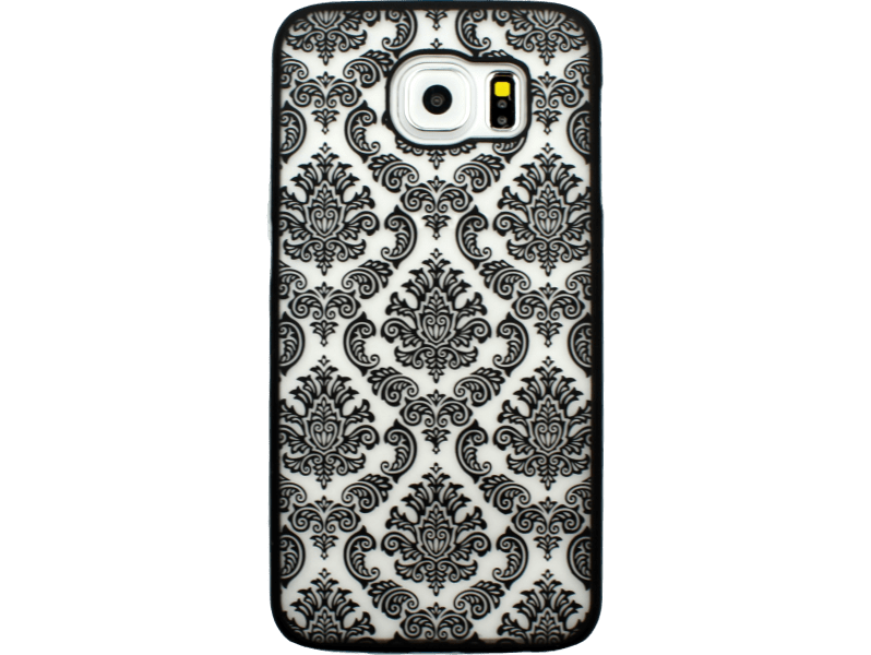 Image of   Metis Cover med mønster til Samsung Galaxy S6 -Sort