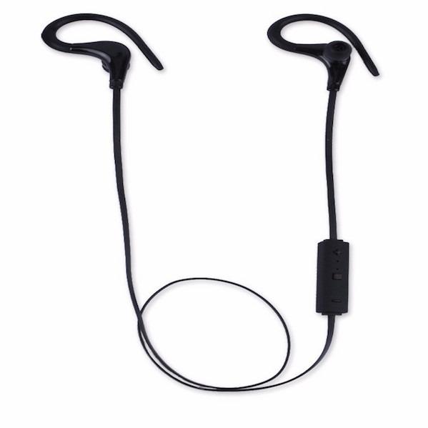 Image of   Trådløst Bluetooth løbe headset - til løb og fitness-Sort