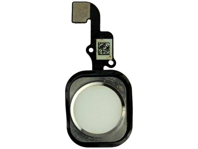 Image of   iPhone 6 plus hjemknap med kabel-Hvid