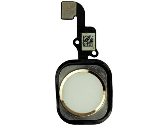Image of   Hjemknap med kabel til iPhone 6S plus-Guld