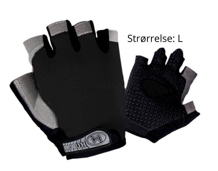 Image of   Sorte Handsker til Træning-Large
