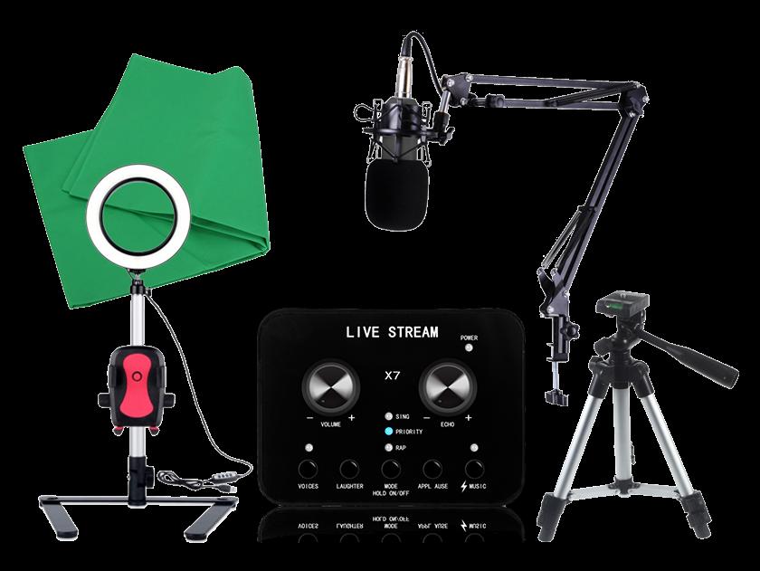 Image of   Elite Livestreaming udstyrspakke