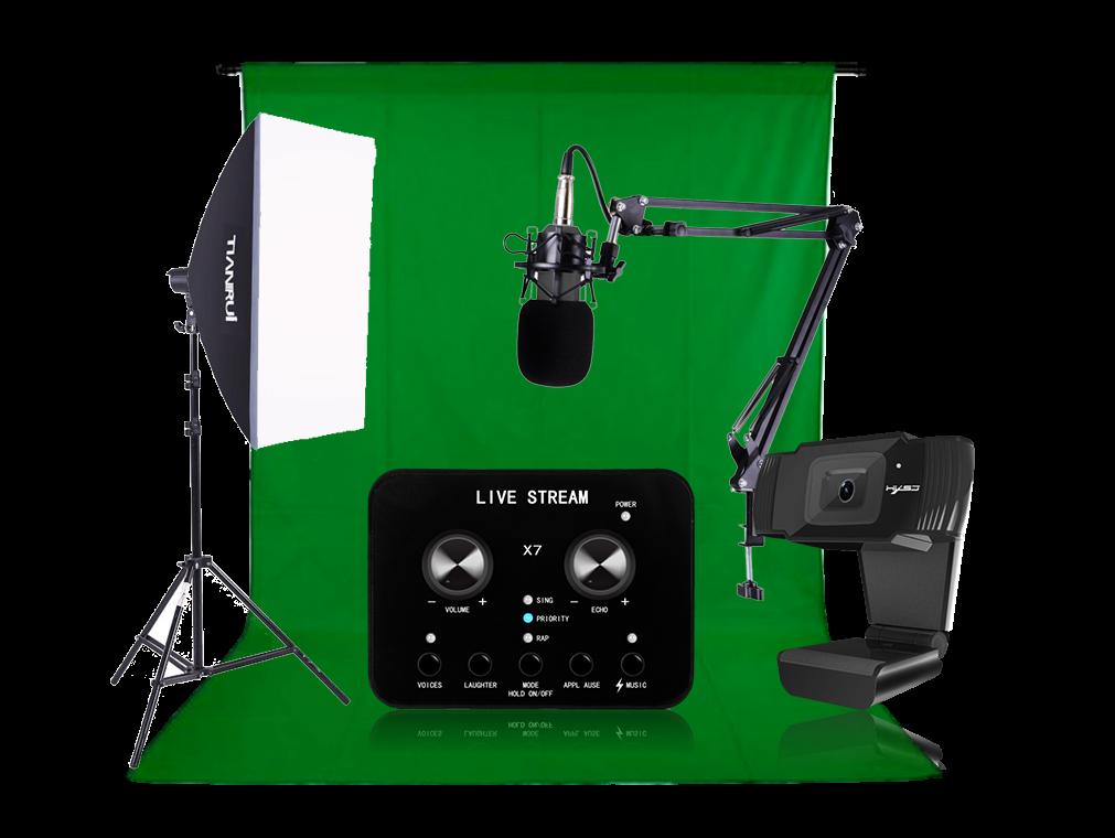 Image of   Mega Livestreaming udstyrspakke