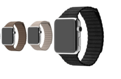 Image of   Apple watch Loop Genuine læderrem