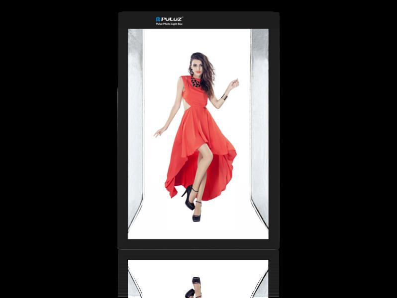 Image of   200x120cm Fotostudie 5500K Lightbox til Fuld Figur Portræt