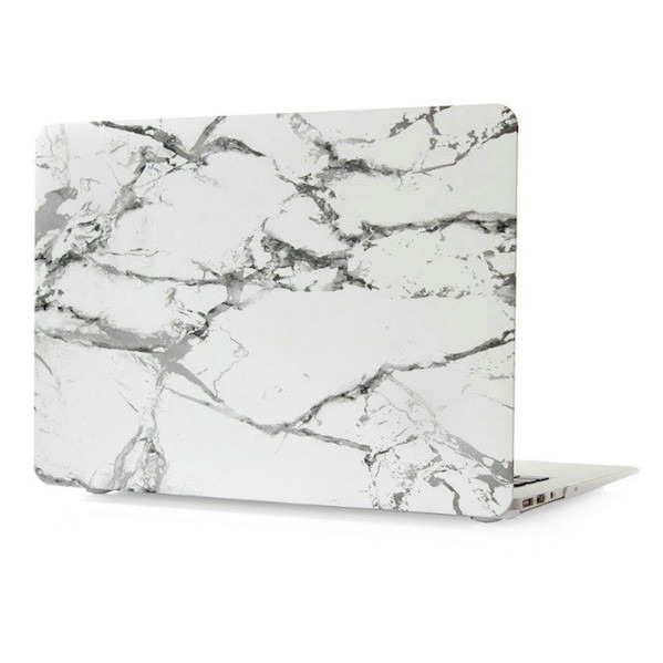 Carrara Marble Cover til Macbook Pro 13