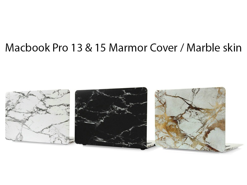 Image of   Macbook Pro 13 & 15 Marmor Cover / Marble skin