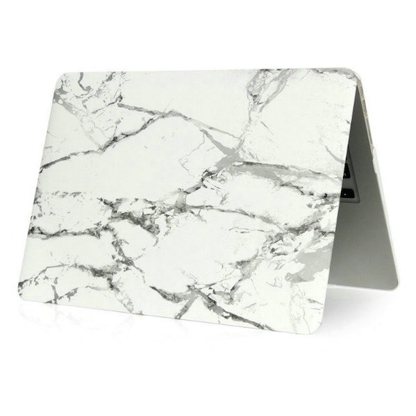 Carrara Marmor Cover til Macbook Pro Retina 13""