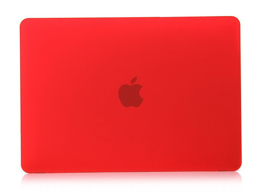 "Matte Cover til Macbook Air 13""-Rød"