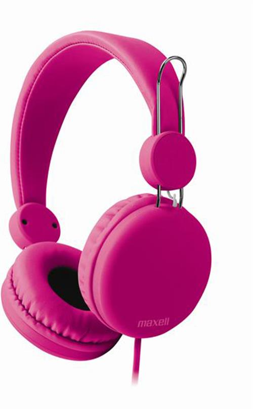 Maxell Spectrum Headphones i Pink