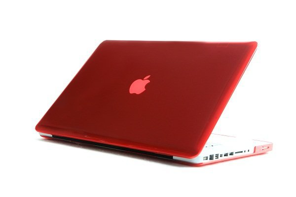 """Billede af Klart Rødt cover til Macbook Pro 13"""""""